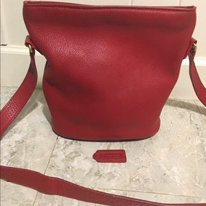 Coach Red Sonoma crossbody bag